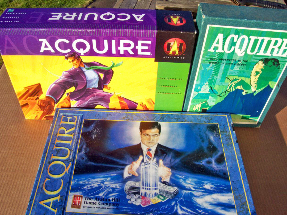 Vintage ACQUIRE Games