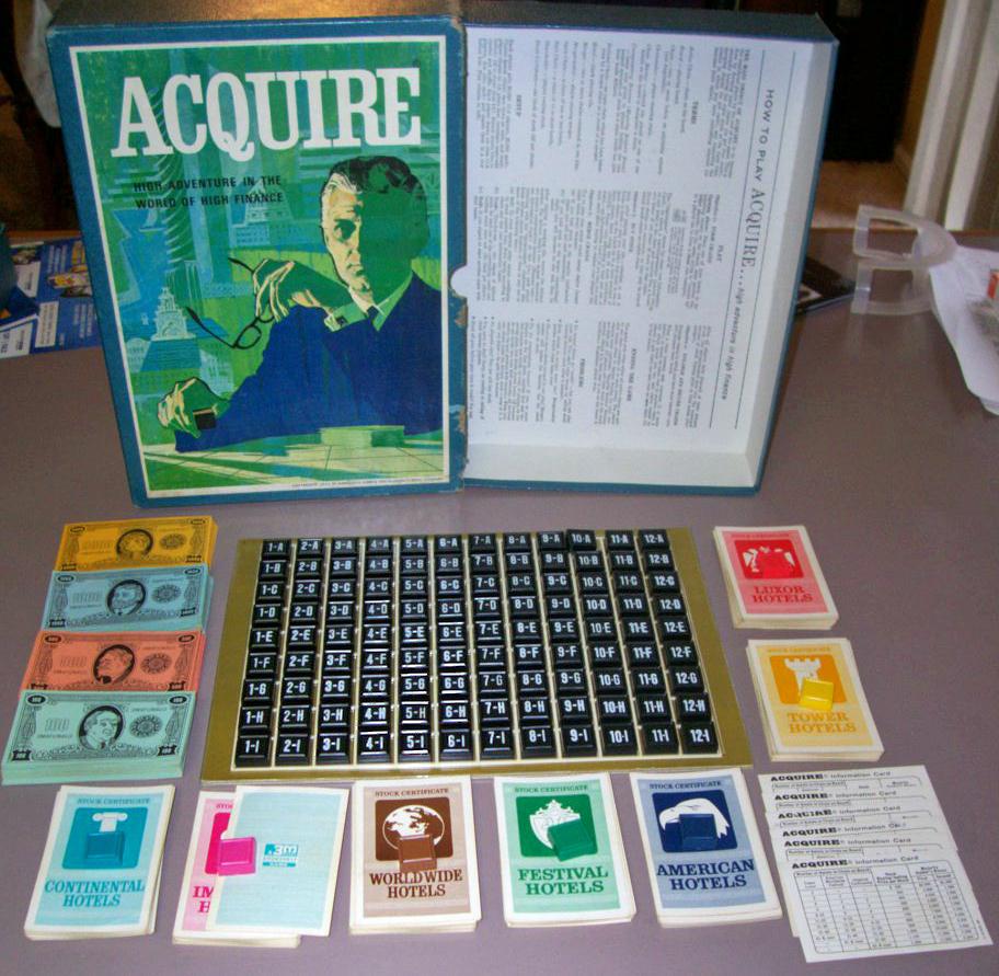 1962/1963 Plastic Tile Game