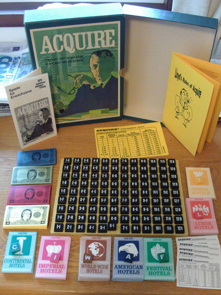 1968 3M German Version of ACQUIRE