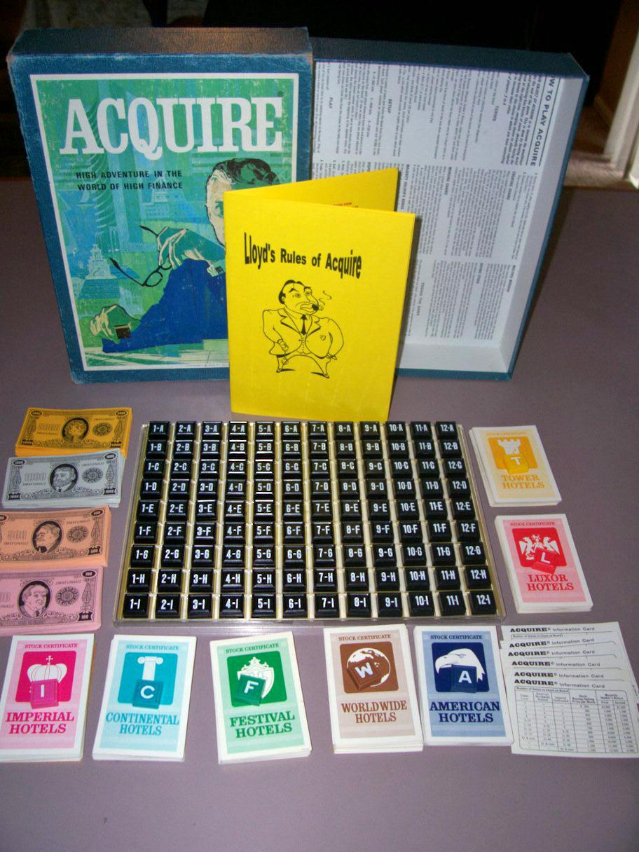 Acquisition Games - The 3M Era