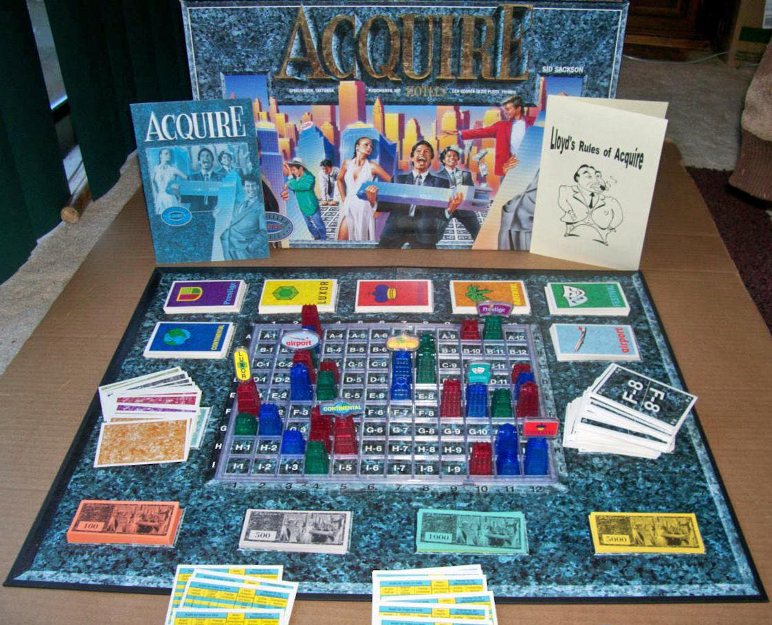 1993 Schmidt Spiele Acquire