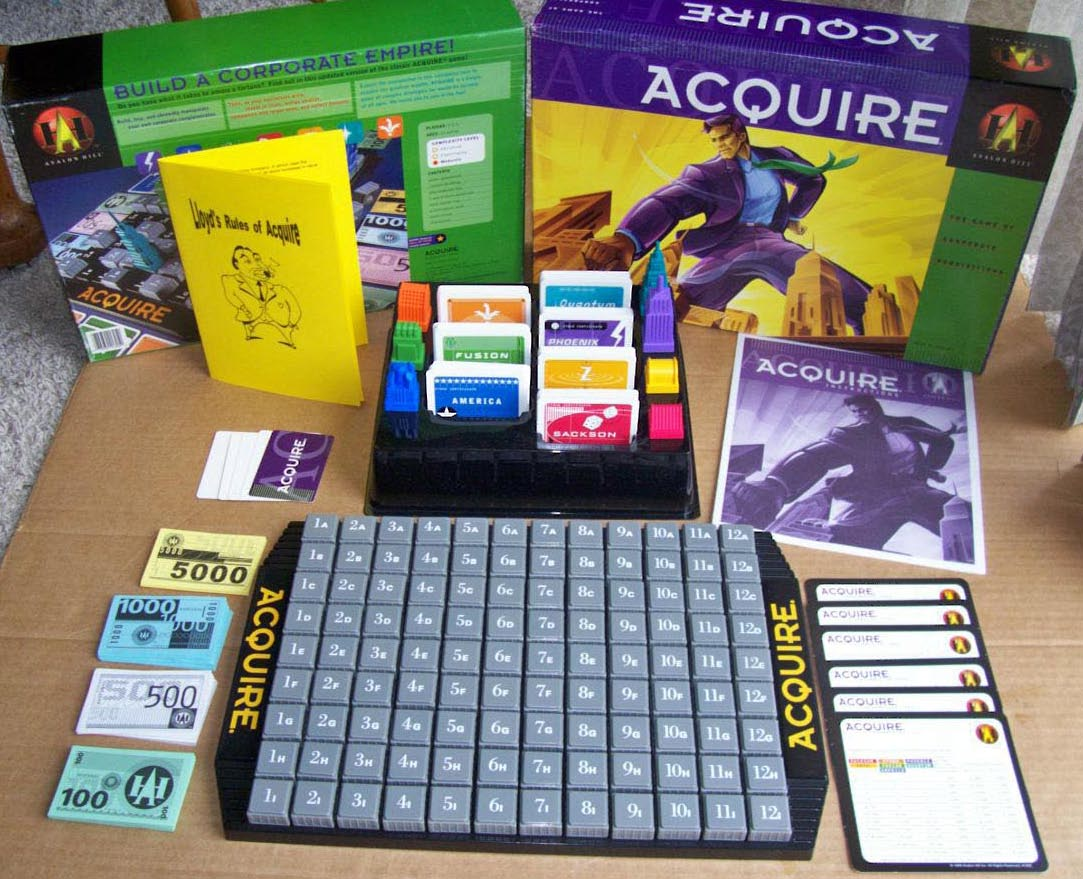Acquire (1999 Hasbro Edition)