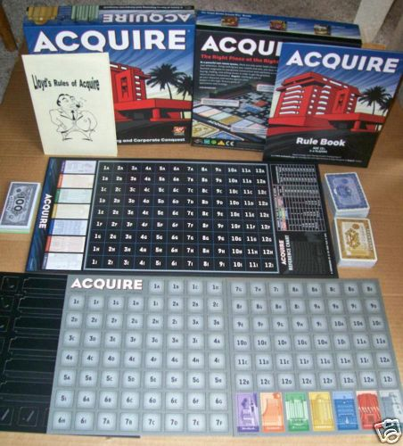 Acquire (2008 Wizards of the Coast Edition)