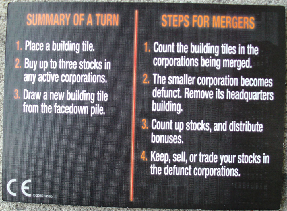 Back of 2016 ACQUIRE Information Card