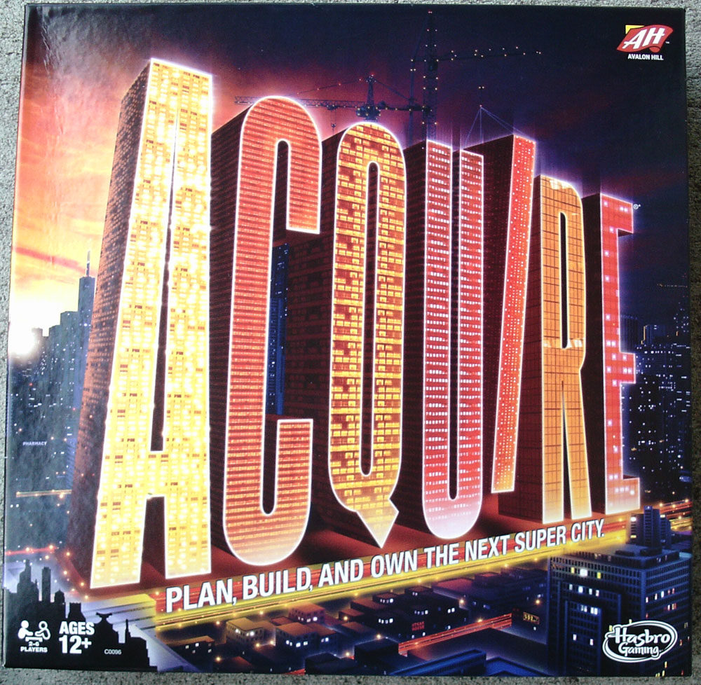 Hasbro's 2016 Edition of ACQUIRE