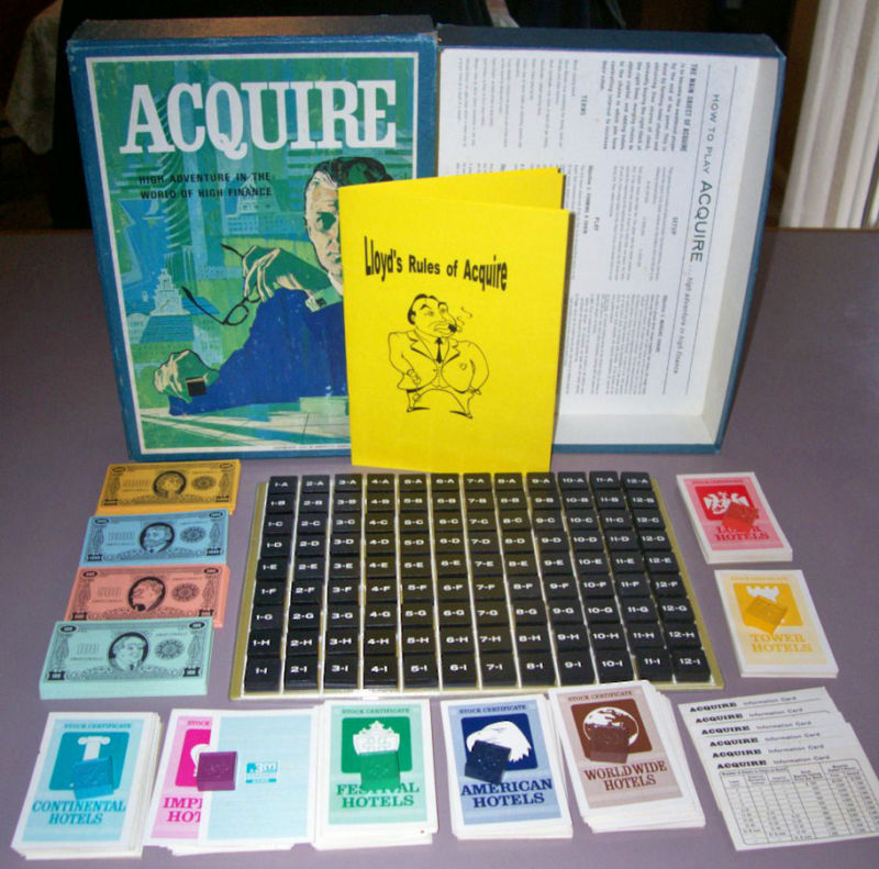 1962/1963 Wood Tile Game