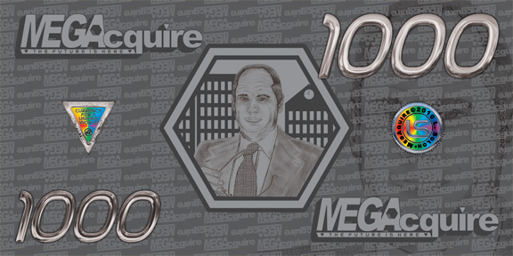 MEGAcquire Currency $1,000