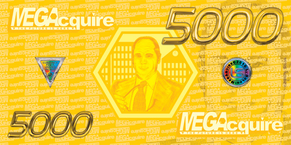 MEGAcquire Currency $5,000