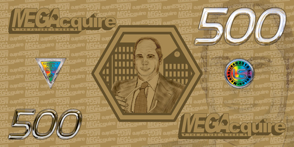 MEGAcquire Currency $500