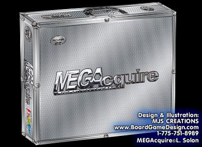 MEGAcquire Game Box