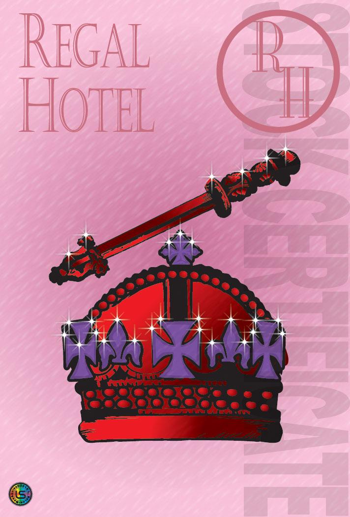 Regal Hotel Stock Certificate
