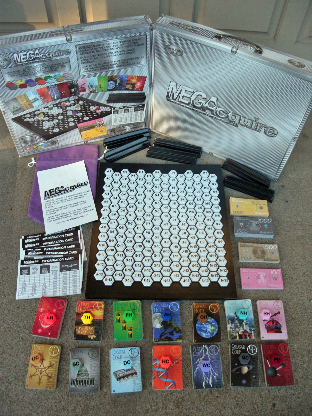 MEGAcquire Game Components