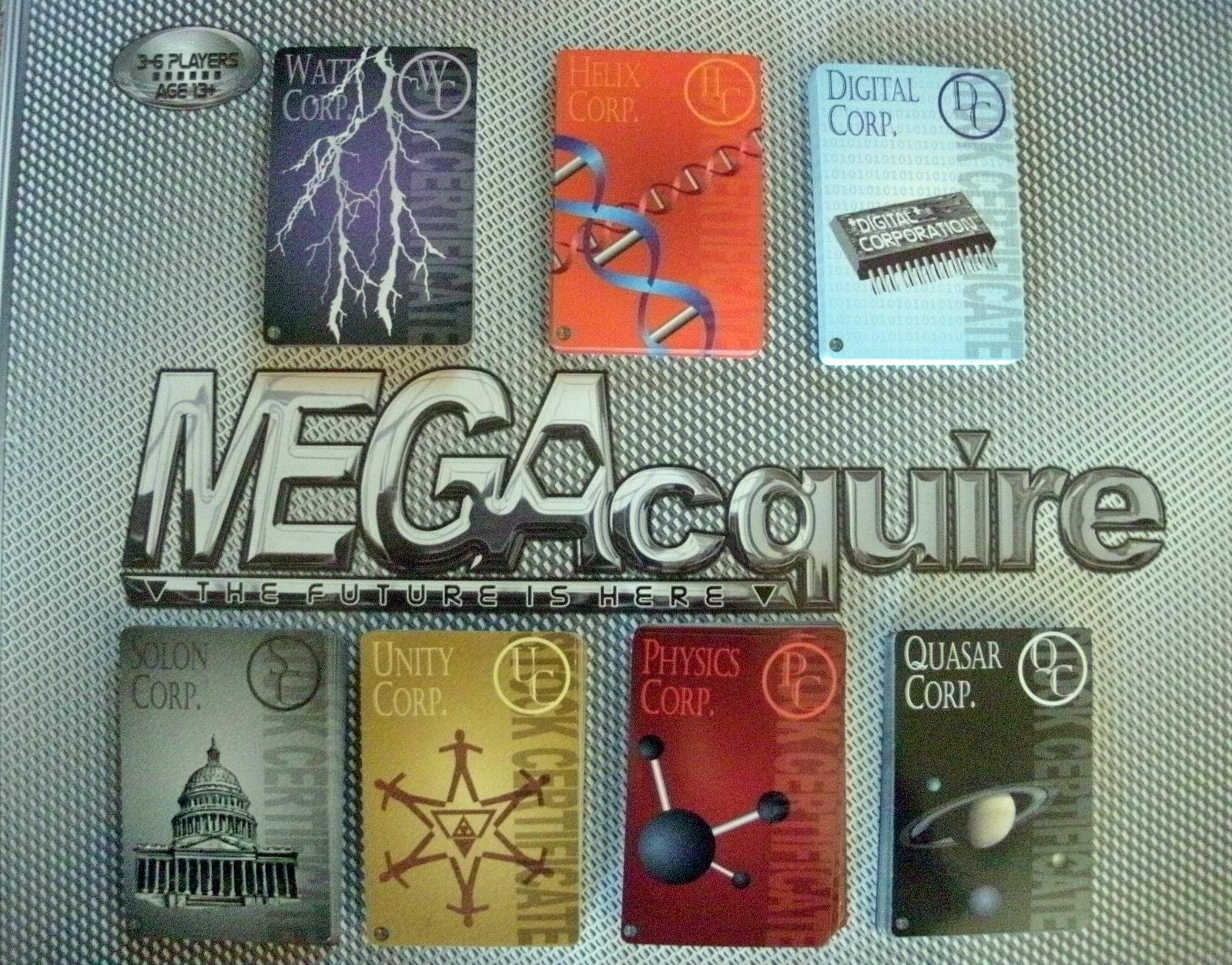 MEGAcquire Corporation Stock Certificates