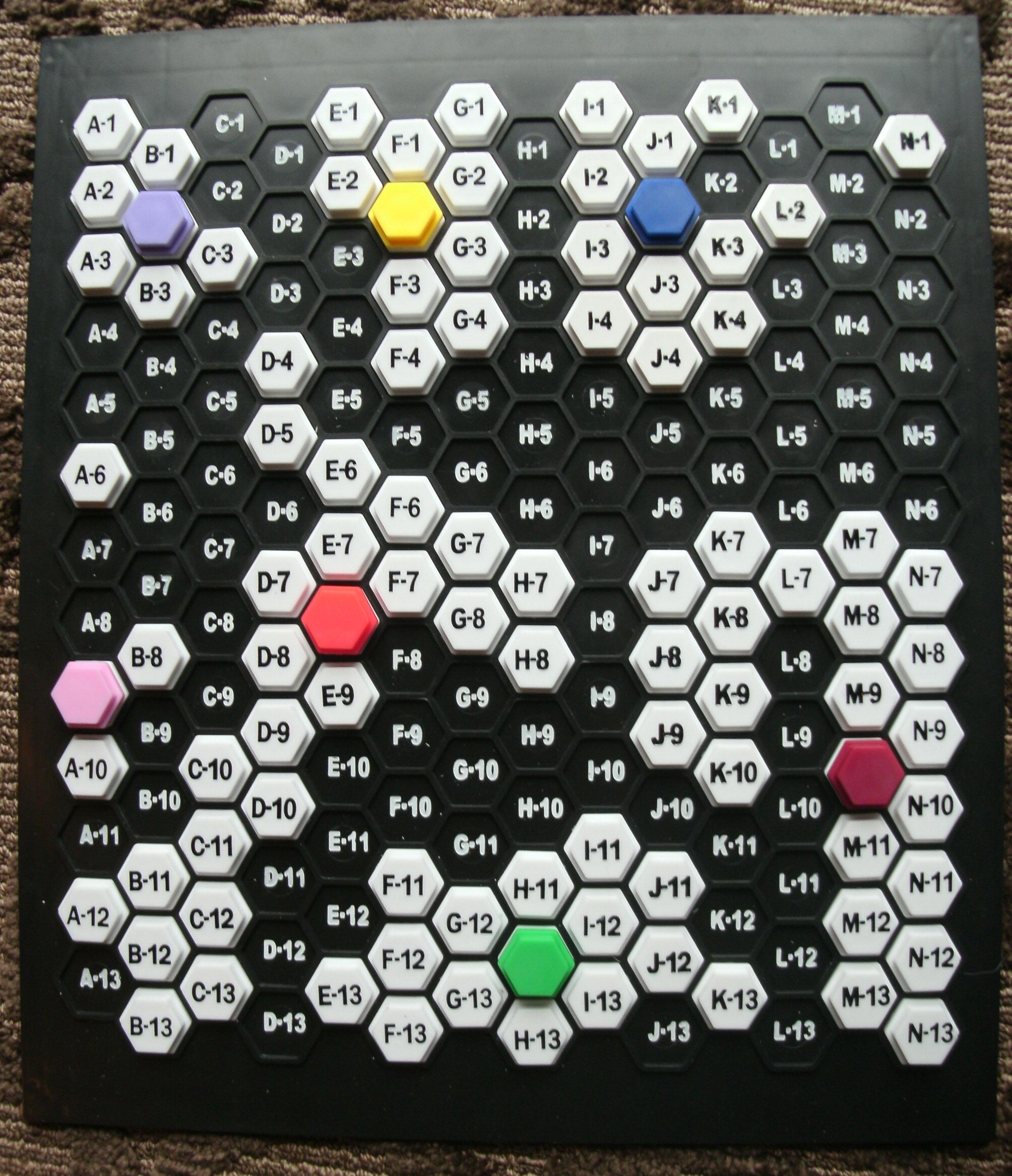 MEGAcquire Game Board
