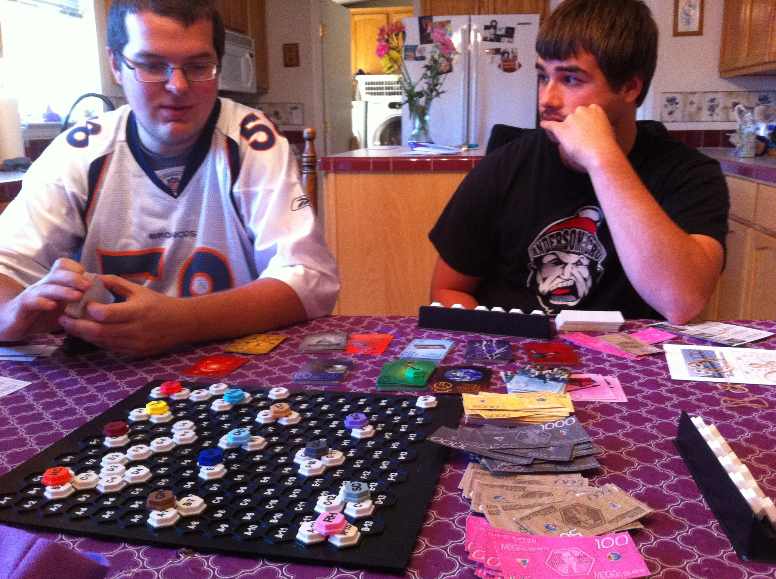 Playing MEGAcquire