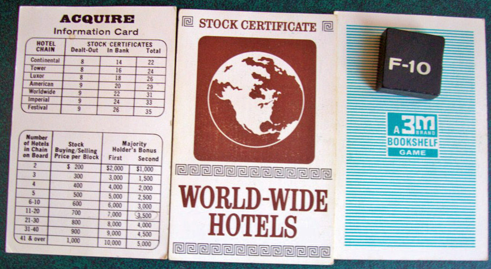 1963 World Map Components
