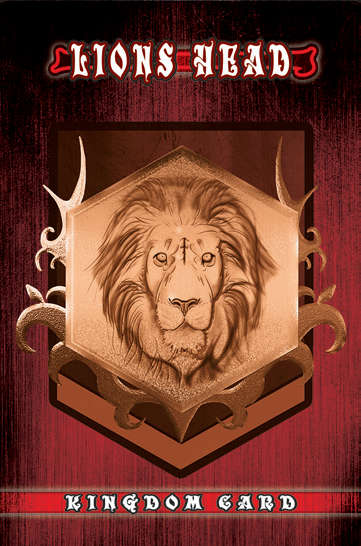 Lions Head Kingdom Card