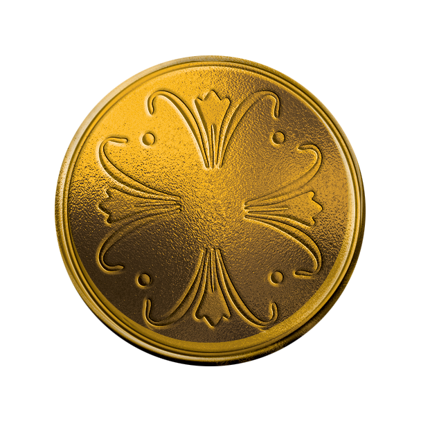 ACQUISITIONS Gold Coin Front