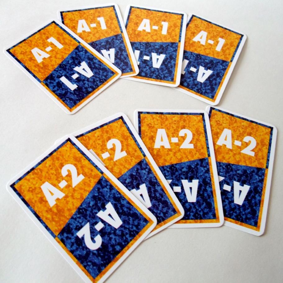 1997 ACQUIRE Designation Cards