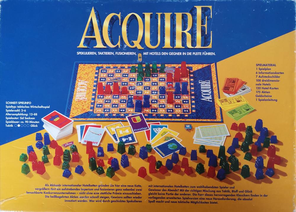 1997 ACQUIRE Box Back