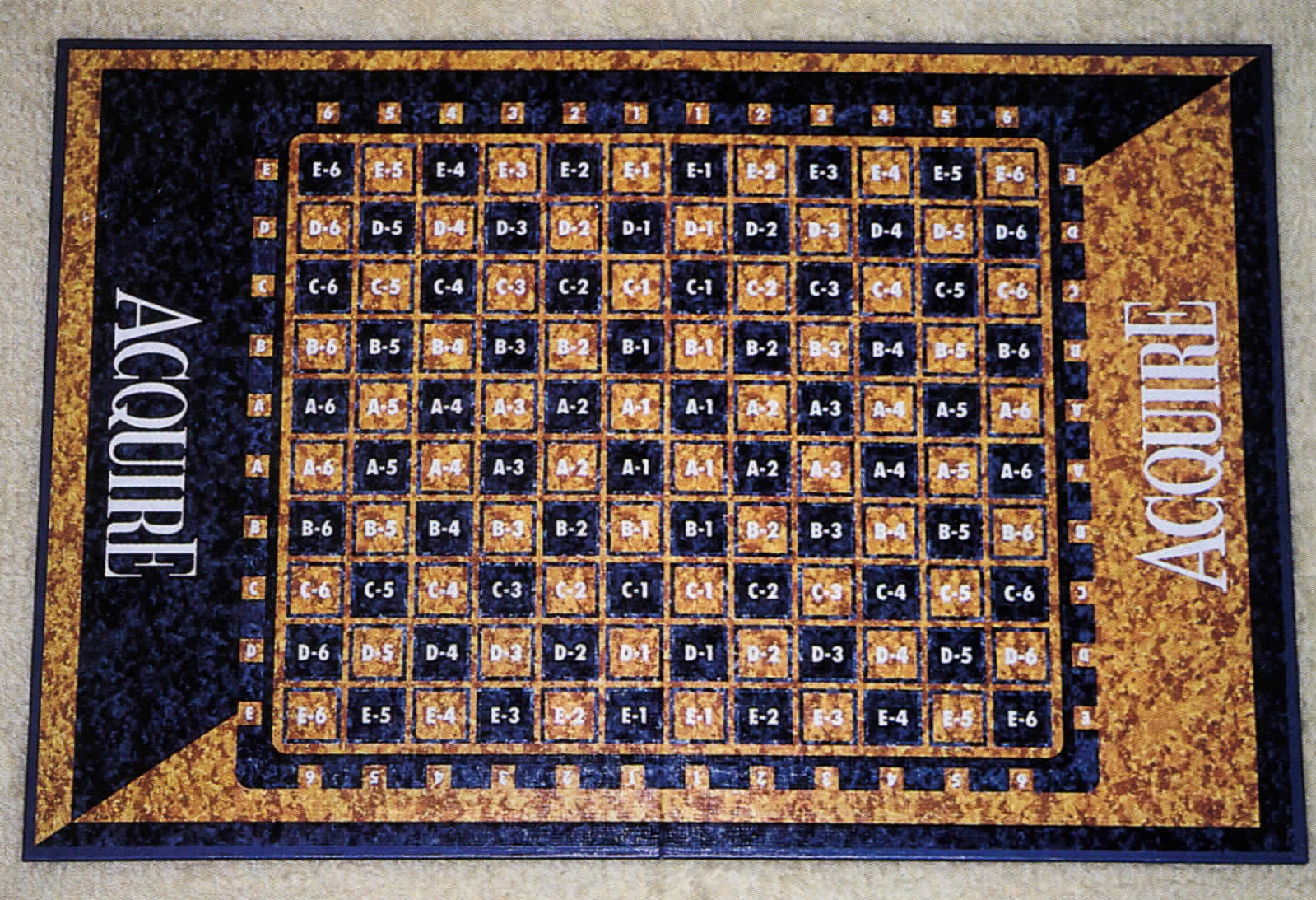1997 ACQUIRE Game Board