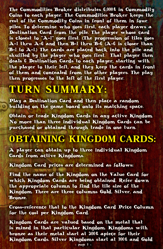 ACQUISITIONS Rules - Page 3