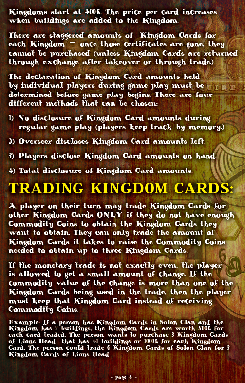 ACQUISITIONS Rules - Page 4