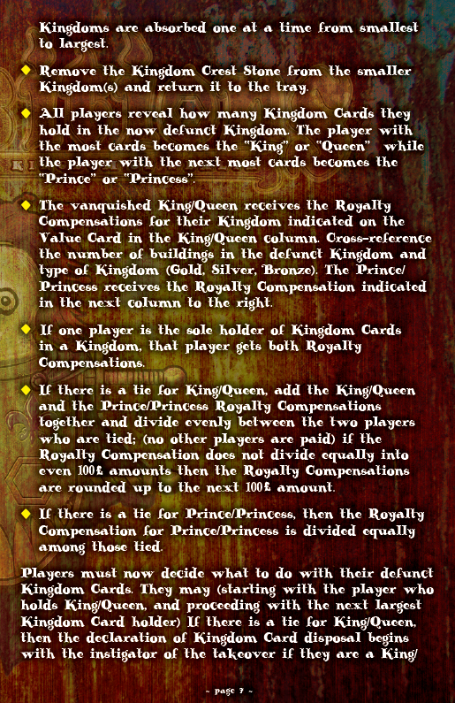 ACQUISITIONS Rules - Page 7