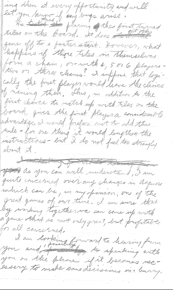 Sid Sackson Letter March 1. 1964 Page 5
