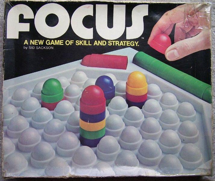 Sid Sackson's Focus