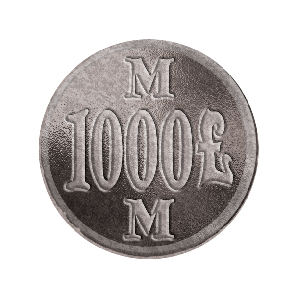 ACQUISITIONS Silver Coin Back